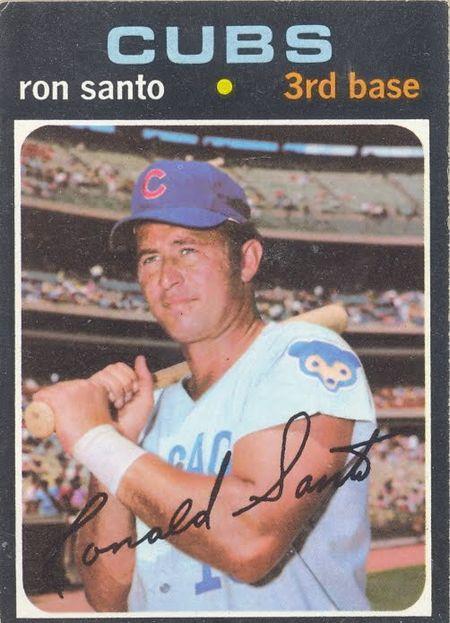 Topps 1971 Santo