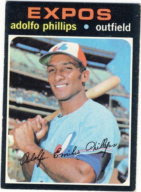 '71 Topps Adolfo Phillips