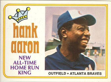 1974 Topps #1 Hank Aaron