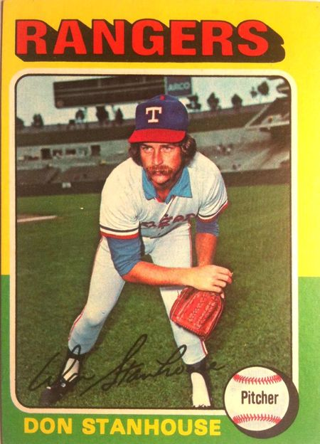 1975 Topps Don Stanhouse