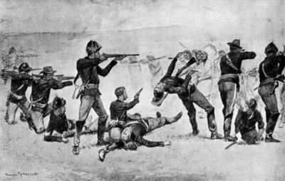 The-Opening-of-the-Fight-at-Wounded-Knee
